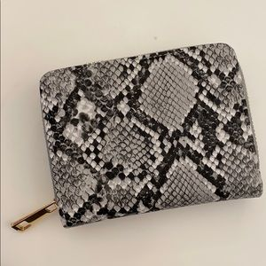 Snakeskin Mini Wallet